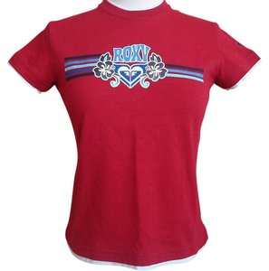 Roxy T Shirt Red
