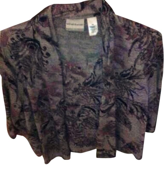 Alfred Dunner Top Purple