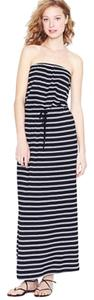 Black and white double-stripe Maxi Dress by J.Crew