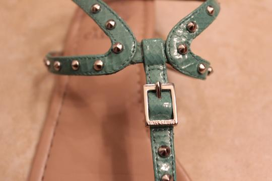 Vince Camuto Studded Turquoise Sandals