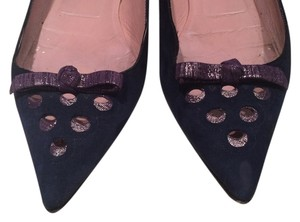 Marc Jacobs Navy Blue Flats