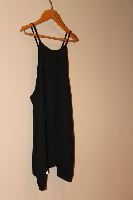 Eight Sixty Necklace Cami Hot Mama Top Black