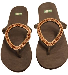 Sanuk Brown Sandals