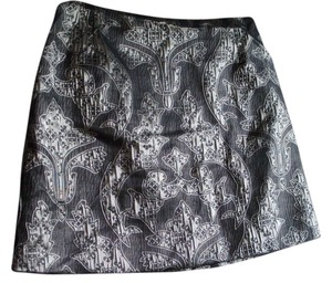 H&M Skirt Silver and Gray