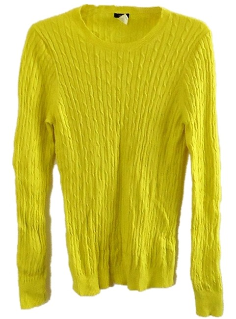 J.Crew Cashmere Wool Elastic Textured Sweater