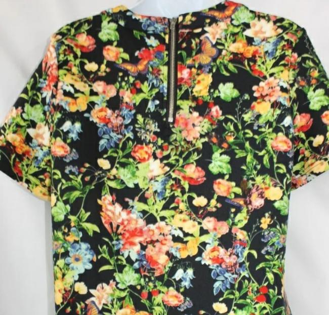Glamorous Floral Print Stretch Top