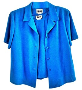 Leslie Fay Twinset teal Blazer