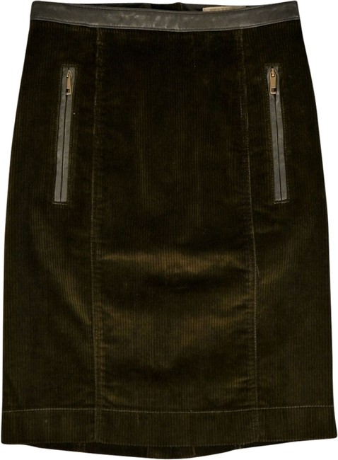 Item - Green Brit Whale Corduroy Olive Skirt Size 2 (XS, 26)