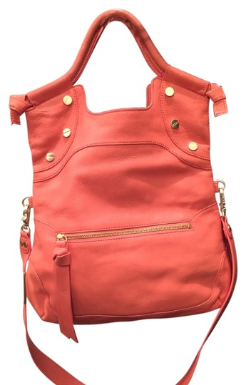Preload https://item2.tradesy.com/images/foley-corinna-lady-city-coral-cowhide-tote-4047796-0-0.jpg?width=440&height=440