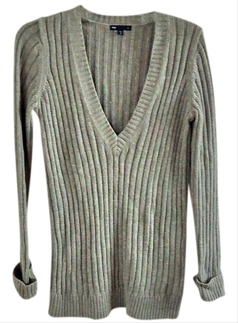 Gap Chunky Textured V-neck Sweater