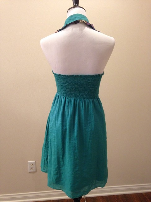 Meghan short dress Turquoise green on Tradesy