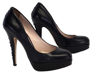 Miu Miu Leather Platform Pump Pumps