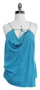 Leifsdottir Silk Strappy Draped Top