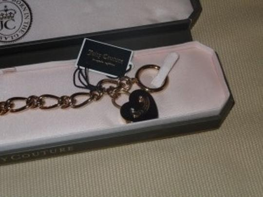 Juicy Couture chain charm starter toggle heart