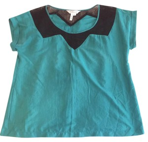 BCBGeneration Fall Sexy Night Out Going Out Sexy Party Top Teal