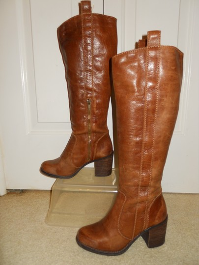 Steve Madden Leather tan Boots