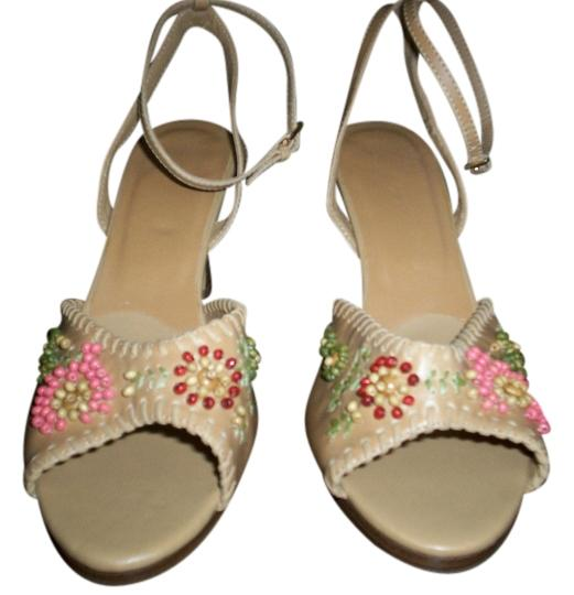 Other Beaded tan Sandals