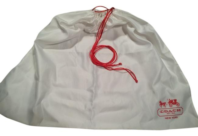 Item - & Dustbag White Red Silk Tote