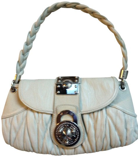 Preload https://item2.tradesy.com/images/steven-by-steve-madden-silver-tone-grey-taupe-braided-pleated-taupe-grey-leather-shoulder-bag-405206-0-0.jpg?width=440&height=440