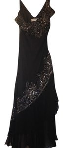 Papell Boutique Beading Evening Dress