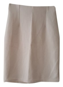 Forever 21 Cotton Polyester Skirt White