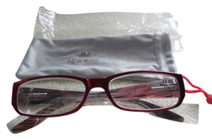 JM New York JM New York Red +2.50 Reading Glass