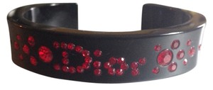 Dior Black And Red Dior Bangle