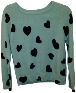 Forever 21 Hearts Sweater