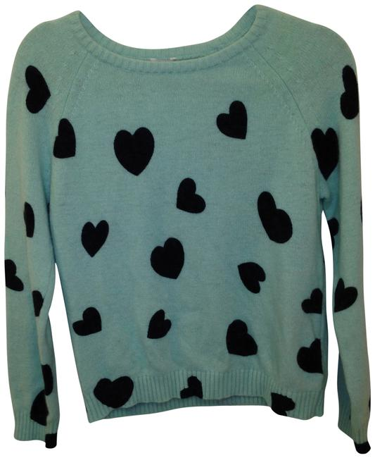 Preload https://img-static.tradesy.com/item/405242/forever-21-turqouise-hearts-sweaterpullover-size-12-l-0-0-650-650.jpg