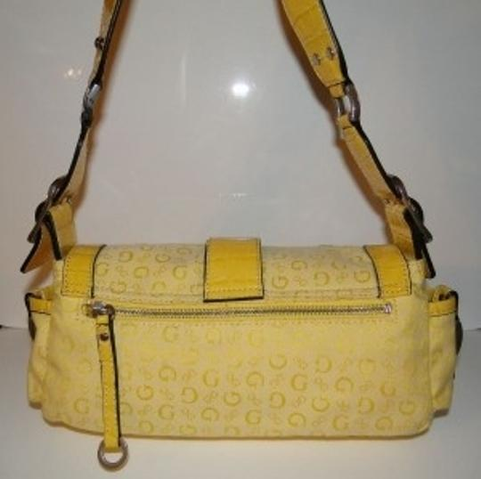 Guess Satchel in Yellow