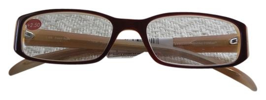 Preload https://item1.tradesy.com/images/french-roast-and-ivory-precision-reading-eyewear-250-reading-glasses-4052800-0-0.jpg?width=440&height=440