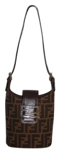Fendi Vintage Gold Hardware Petite Shoulder Bag