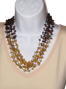 Amber 8 - Strand Necklace