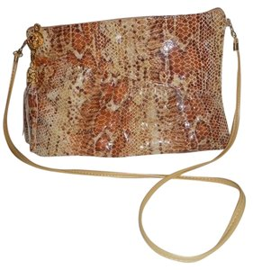 bags by Pinky Vintage Leather Clutch Cross Body Bag