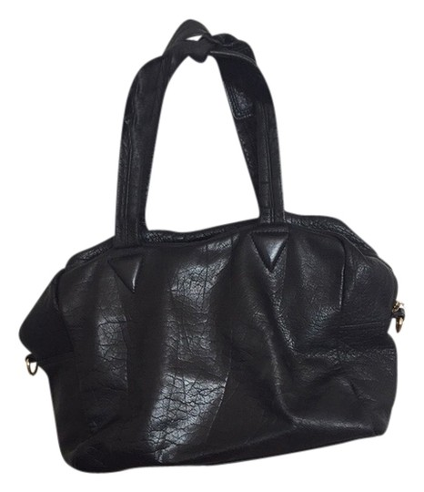 Topshop Satchel in Black