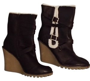 Qupid Dark brown Boots