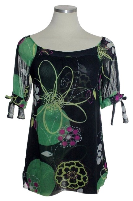 Preload https://item3.tradesy.com/images/sweet-pea-by-stacy-frati-green-multi-off-shoulder-floral-mesh-knit-blouse-size-8-m-4054372-0-0.jpg?width=400&height=650