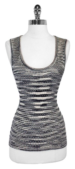 M Missoni Metallic Wool Top