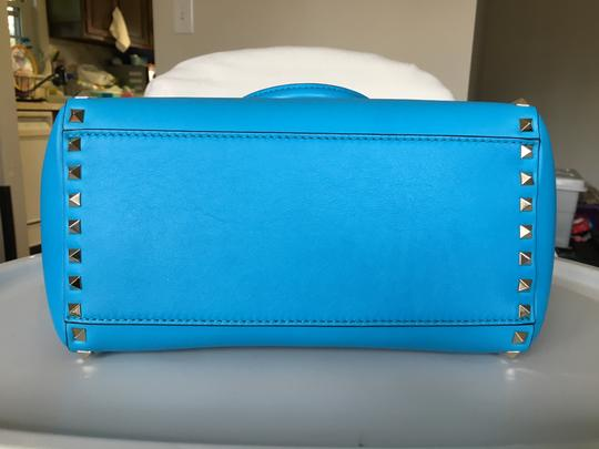Valentino Tote in Paris Blue