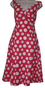 Boden short dress al polka dots on Tradesy