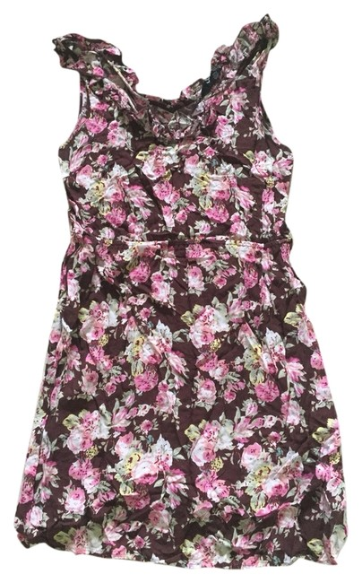 Other short dress Brown Floral on Tradesy