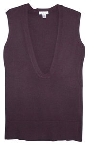 Ann Taylor LOFT Wool Vest Machine Washable Sweater