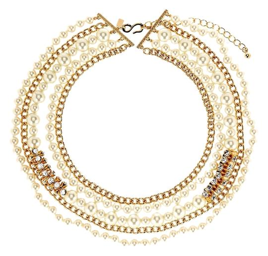 Preload https://item4.tradesy.com/images/kenneth-jay-lane-goldpearl-multiple-strand-chain-necklace-4055668-0-0.jpg?width=440&height=440