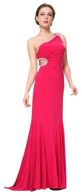 Preload https://item1.tradesy.com/images/cinderella-divine-pink-homecoming-prom-evening-wear-special-occasions-spandex-long-formal-dress-size-4055845-0-0.jpg?width=400&height=650