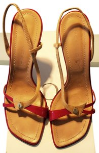 Casadei Red/beige Sandals