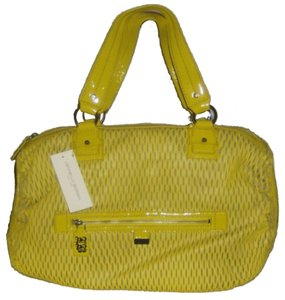 Leonello Borghi Kidsking Lasercut Tote in Yellow