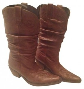 Steve Madden Tan Leather Boots