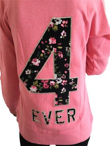 Victoria's Secret 4 Ever Floral Zip Sweatshirt