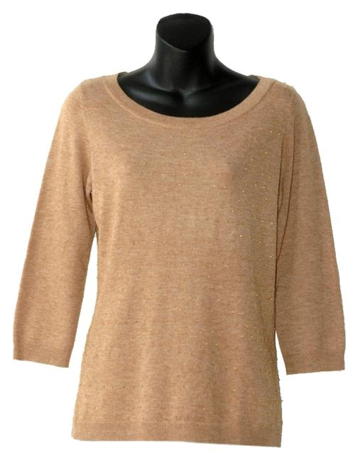 Banana Republic Beaded Loose Fitting Light Knit Sweater