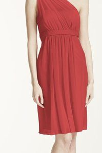David's Bridal Guava Short Dress Dress